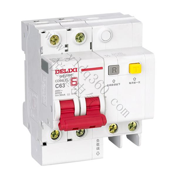 CDB6LEi小型剩余电流动作断路器