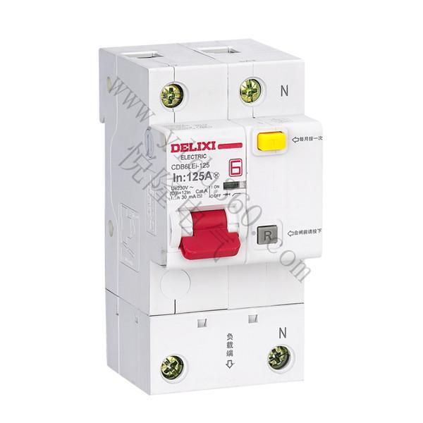CDB6LEi-125大电流漏电保护断路器