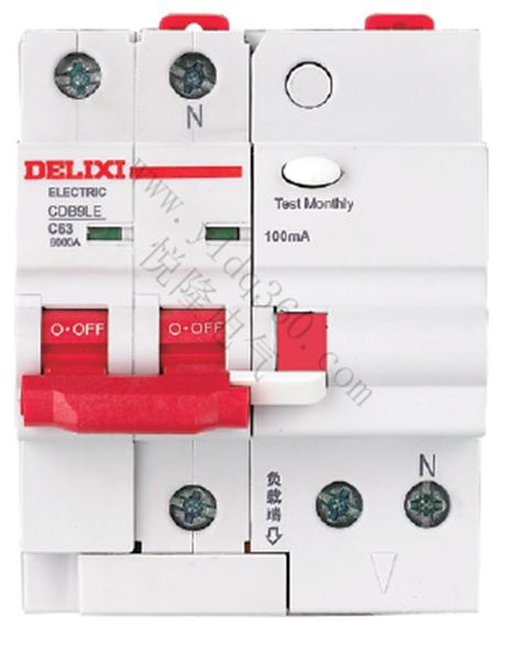 CDB9LE小型漏电保护断路器
