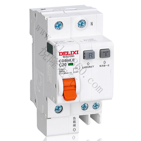 CDBHLE标准漏电断路器