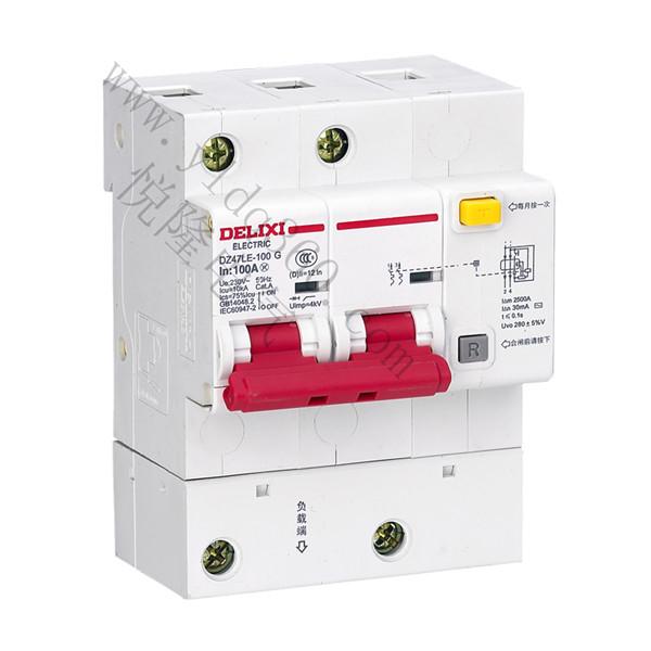 DZ47LE-125大电流漏电断路器
