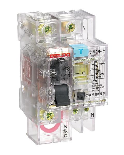 DZ47LET透明漏电保护断路器