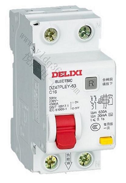 DZ47PLEY-63漏电保护断路器