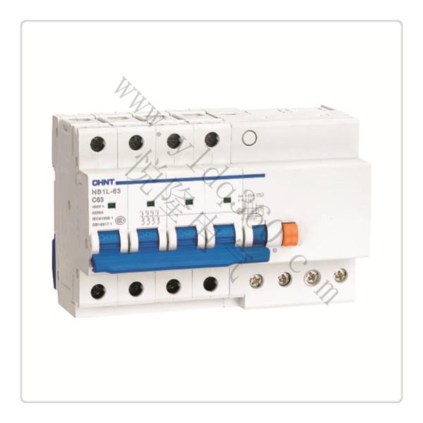NB1L-63剩余电流动作断路器