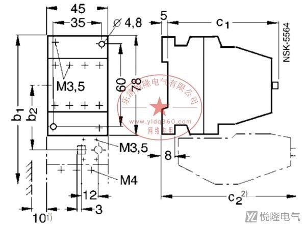 西门子接触器_3TF56