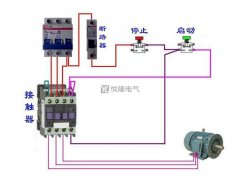 接触器接线图,通过接触器接线图理解接触器原