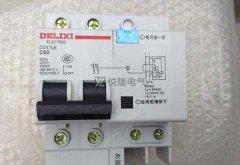 如何判断漏电断路器漏电跳闸故障